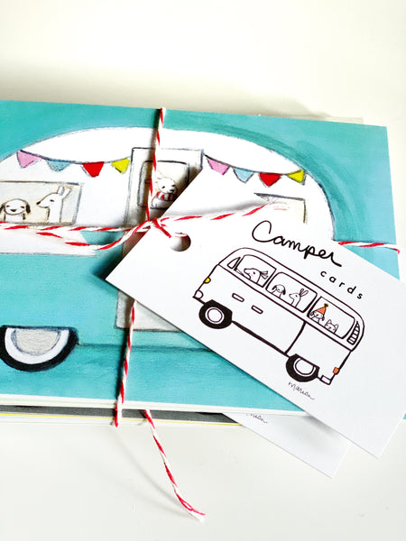 Camper Cards | set of 12