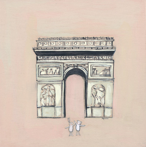 Arc de Triomphe | canvas or framed mini