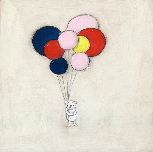 balloon love | canvas | 1 available