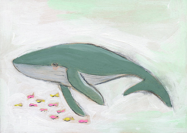 Whale ~ Boundless Creativity | print