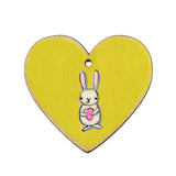 love bunny on yellow | original