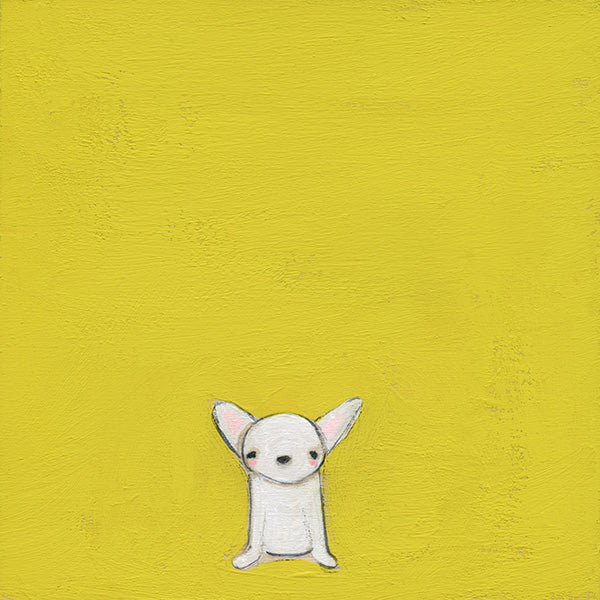 calm chihuahua | canvas | 1 available