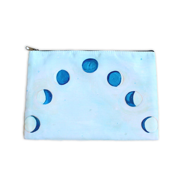 celestial moons| zipper pouch