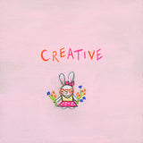 creative bunny | canvas or mini framed canvas | 2 minis + 1 canvas available