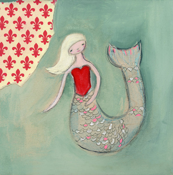 French Mermaid | print