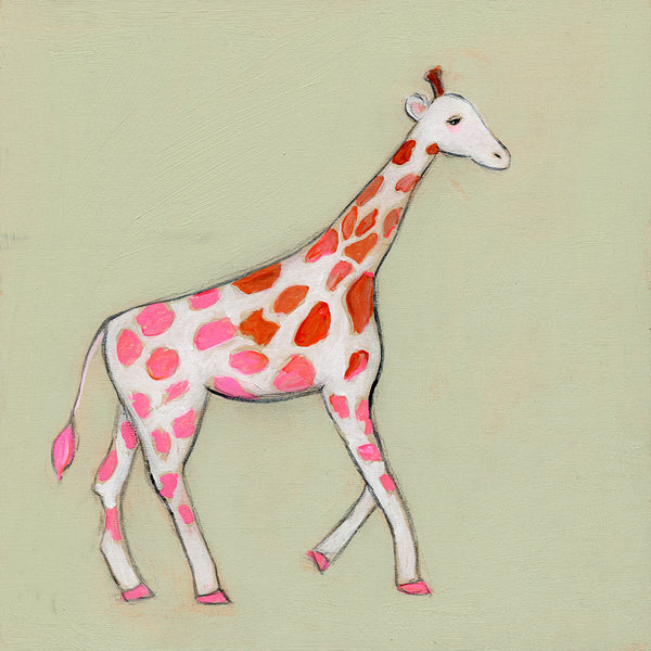 Giraffe ~ Rise with Grace and Confidence as you go for What you Want | original