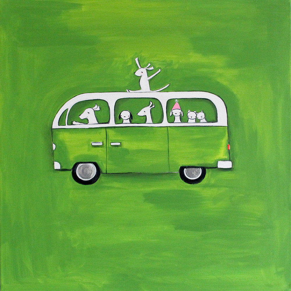 Green VW | original