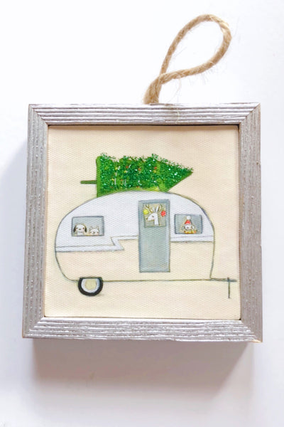 Happy Holiday Camper Ornament