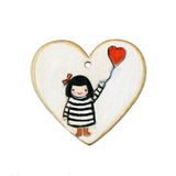 red heart balloon | original