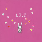 love bunny | canvas or mini framed canvas | 2 minis + 1 canvas available
