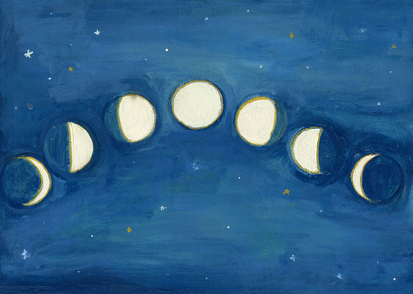 phases of the moon | original
