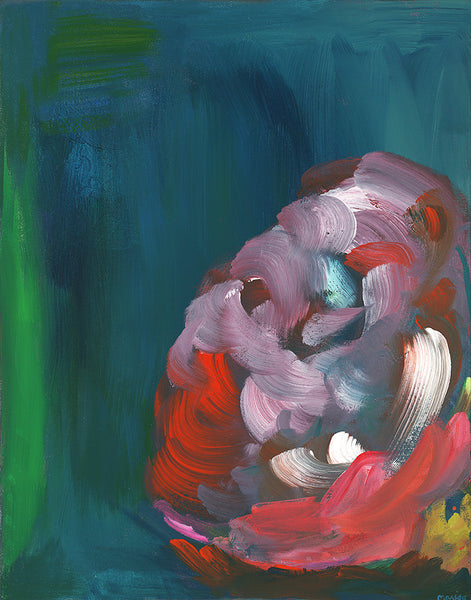 peony no. 1 | canvas | 2 available