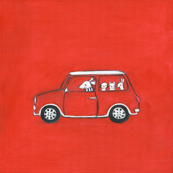 classic mini | canvas | mini framed canvas | 1 of each available