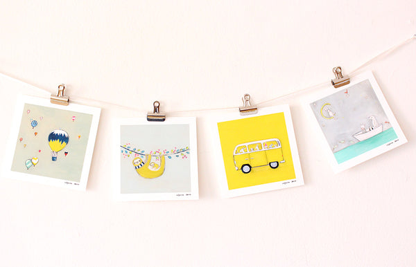 Choose your Favorites | 4 Mini prints
