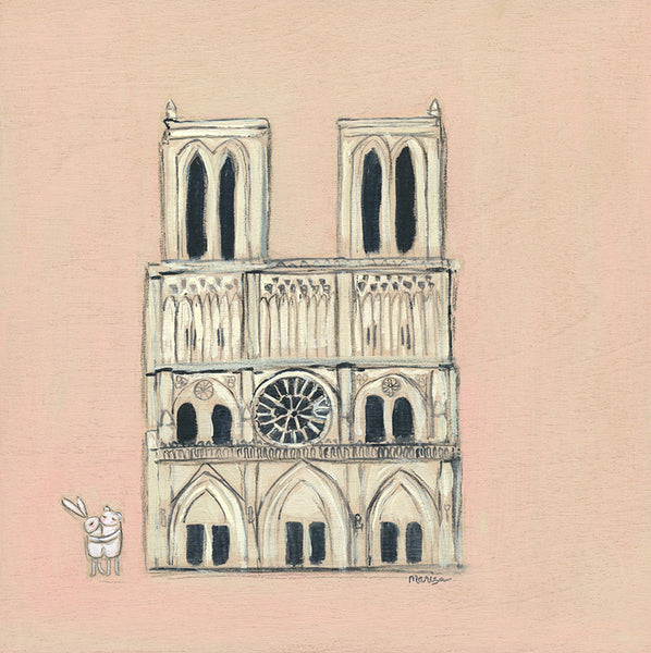 Notre Dame | canvas or framed mini