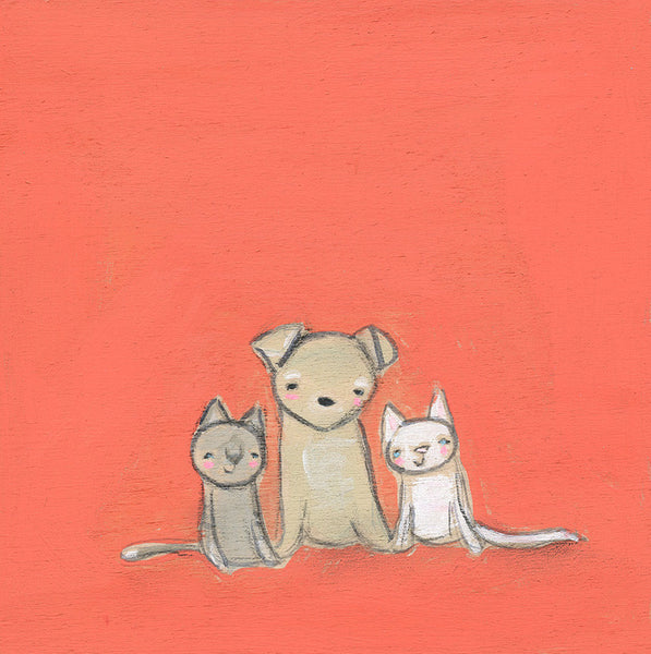 Pepita and the Kittens | print