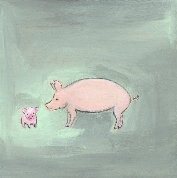Piglets ~ Abundance is All around You  | original
