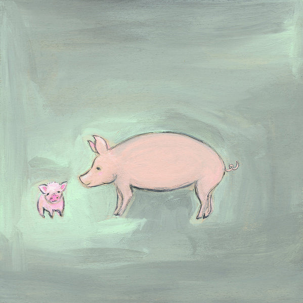 Piglets ~ Abundance is All around You| print