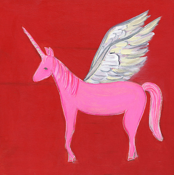 Pink Pegasus ~ Success is Yours | original