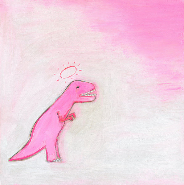 Pinky the T-Rex | print