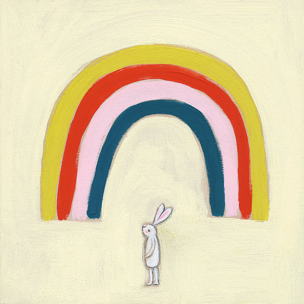 rainbow bunny | original