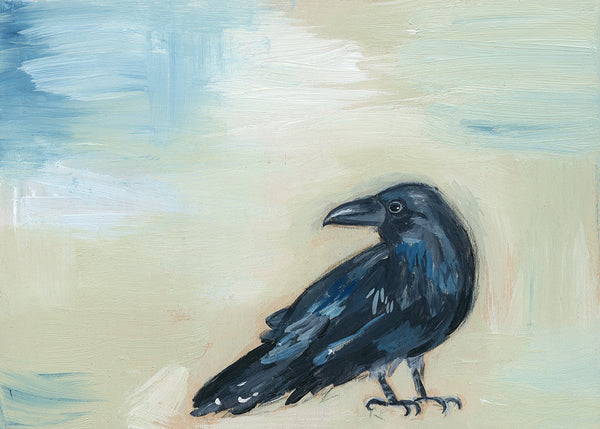 Raven ~ Stay Curious | original
