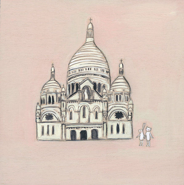 Sacré-Cœur | canvas or framed mini
