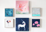 enchanted unicorn | canvas | 1 available