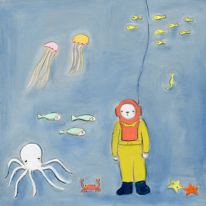 meeting of the Sea Creatures | original