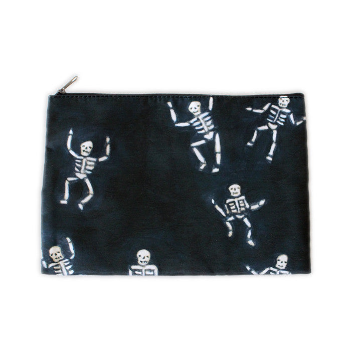 tiny skellies | zipper pouch