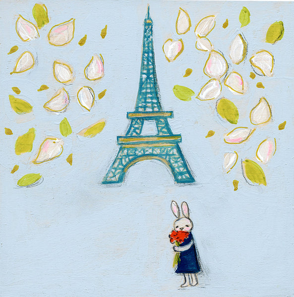 Stop to Smell the Paris Flowers | original