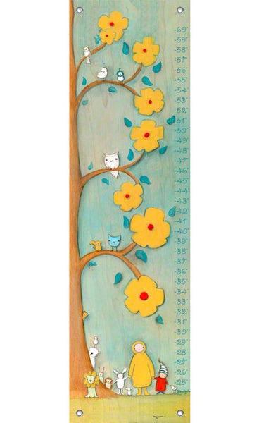 Sunny Gathering Growth Chart | Made to Order