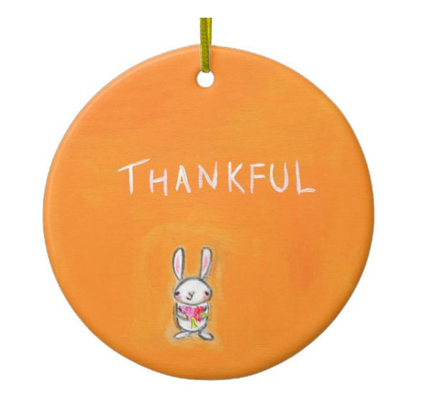 Thankful bunny  | ornament