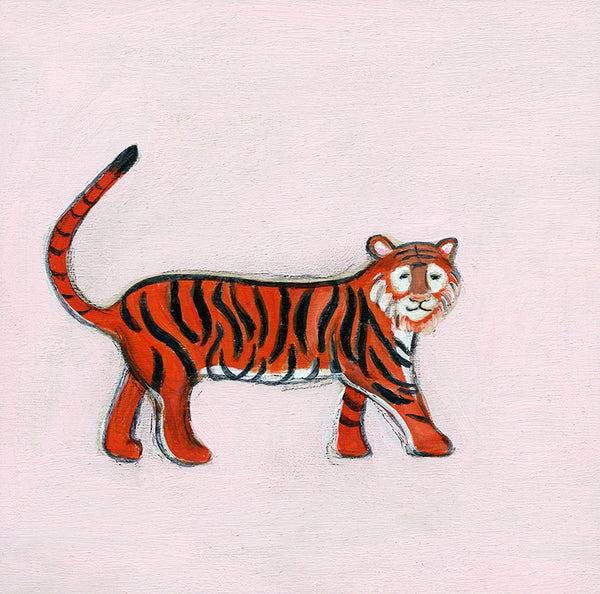 empowered tiger | canvas or mini framed canvas