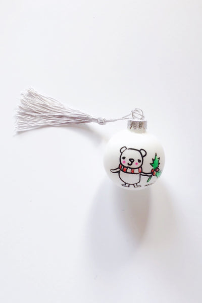 Holiday Bear Ornament