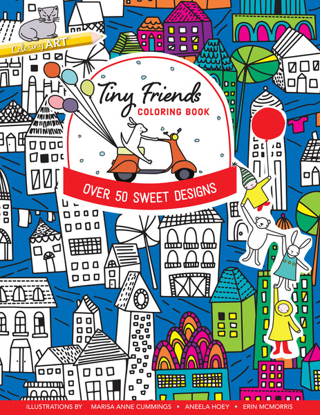 Tiny Friends | Coloring Book