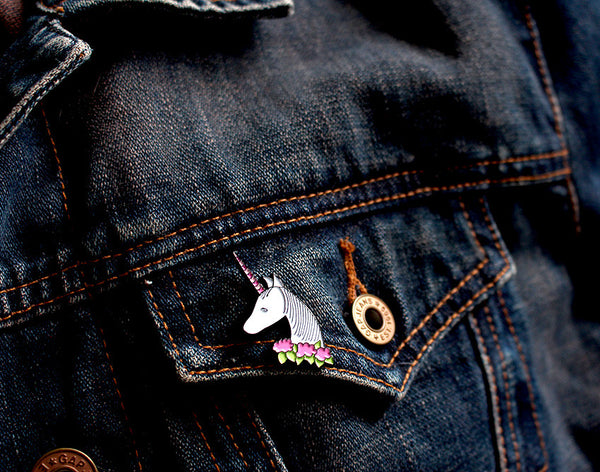 alpaca enamel pin | limited edition