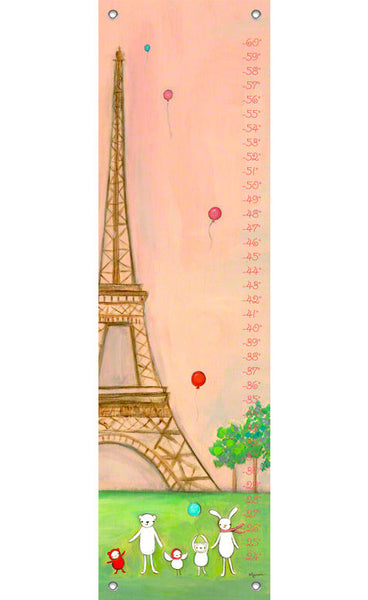 We're in Paris Growth Chart | Made to Order