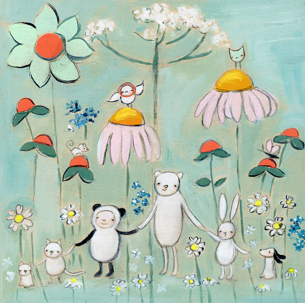 wild flower friends | print