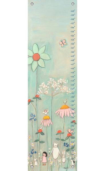 Wildflower Garden Growth Chart | Made to Order