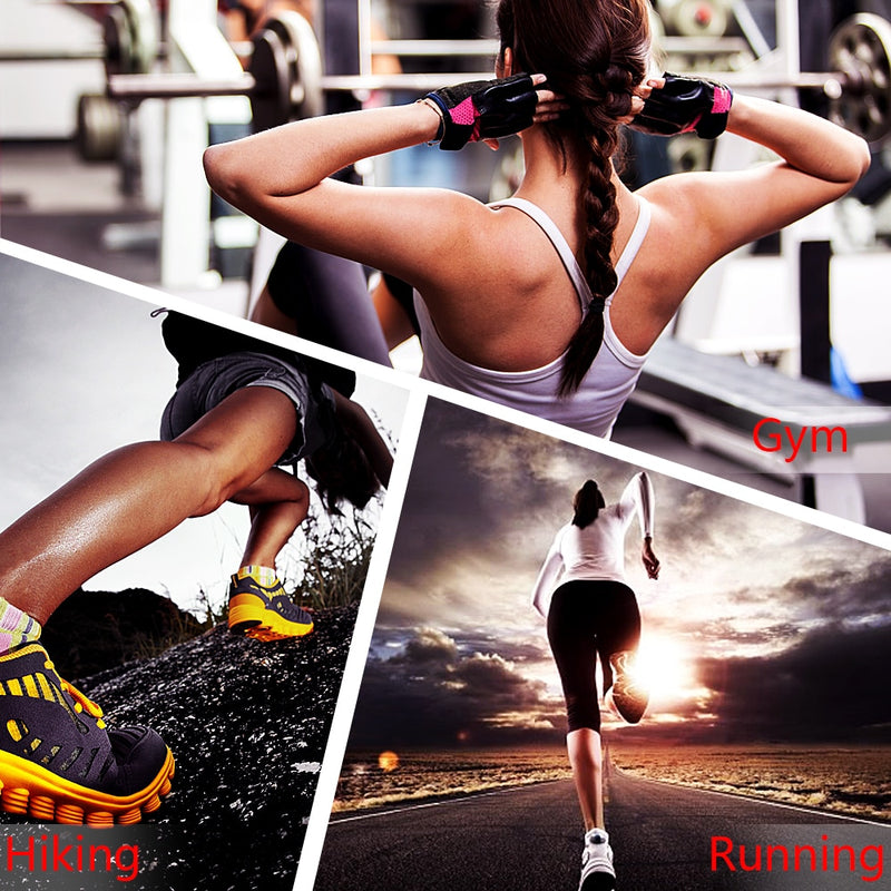 3 Picture Montage of Women Working Out
