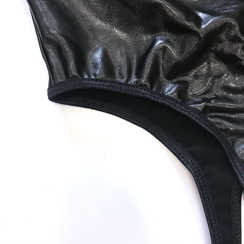 Sexy Women's Black Police Uniform for Erotic Adult Costume Play