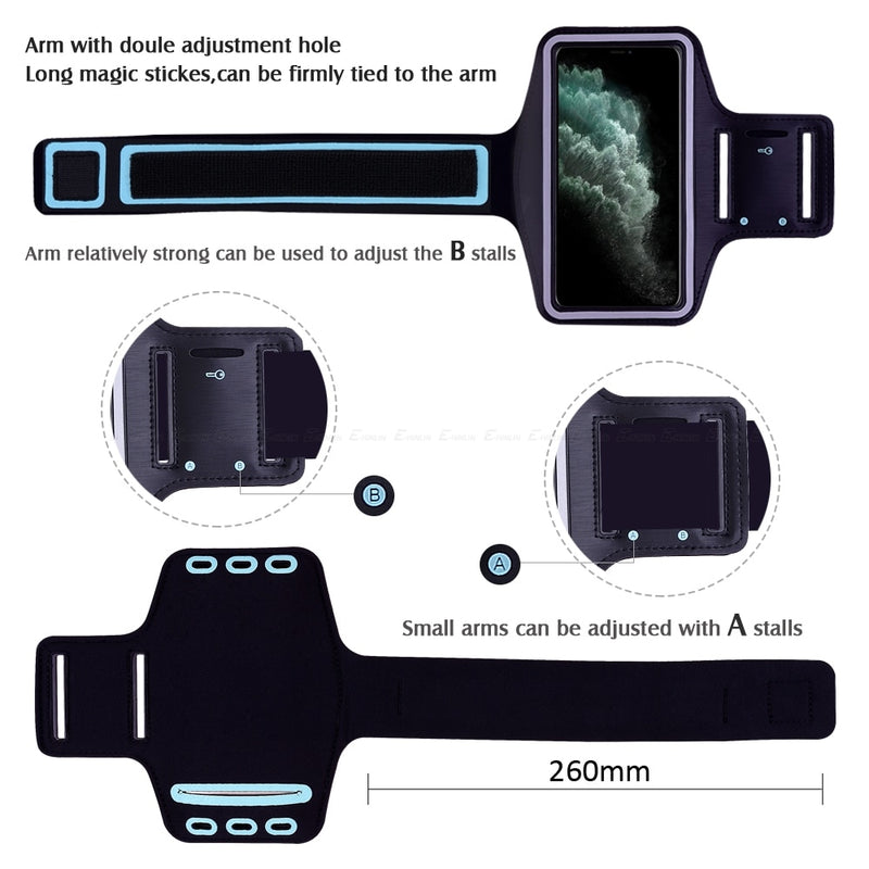 Features of Waterproof Sports Arm Band Holder For iPhone