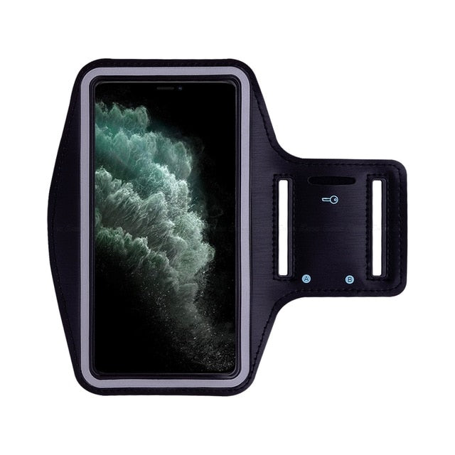 Black Waterproof Sports Arm Band Holder For iPhone