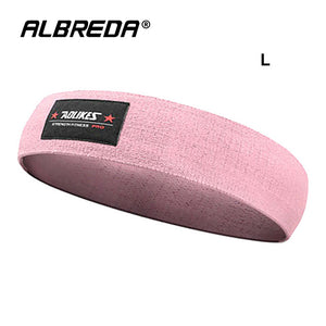 Pink Women's Resistance Training Stretch Band
