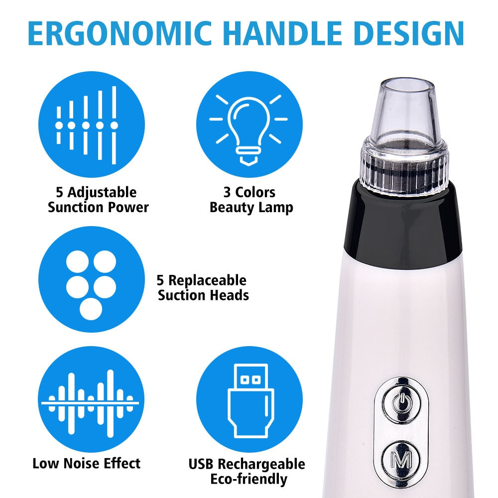 Electric Vacuum Pore Cleaner Beauty Tool