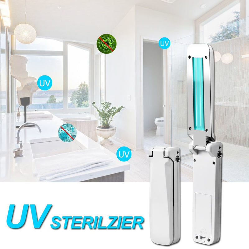 3W Portable UV Light Sterilization Lamp