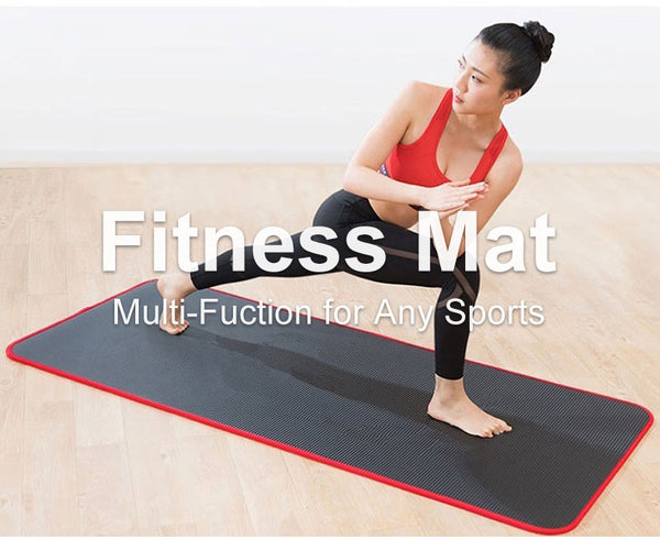 10mm Thick Non-Slip Yoga Mat
