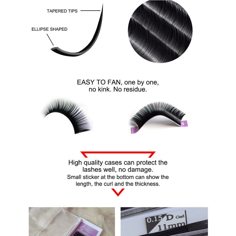 Eyelash Extensions Product Information