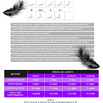 Eyelash Extensions Sizing Information